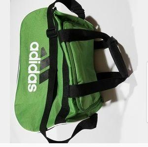 2b82403f1fdc adidas Bags - Adidas Gym Duffle Bag Green Black Spellout Logo